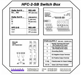 HFC-2-SB Switch Box