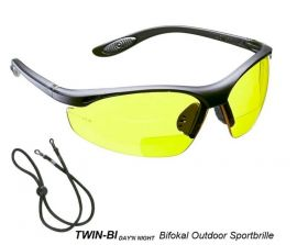TWIN-BI DAY'N NIGHT Bifokal Outdoor Sportbrille - inkl. EU Versand kostenlos!